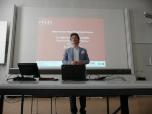 Flaminio Squazzoni's presentation on PEERE