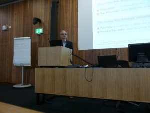 Frank Schweitzer's talk on scientific networks and peer review