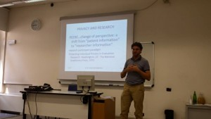 Giorgio Pedrazzi on data sharing and legal issues